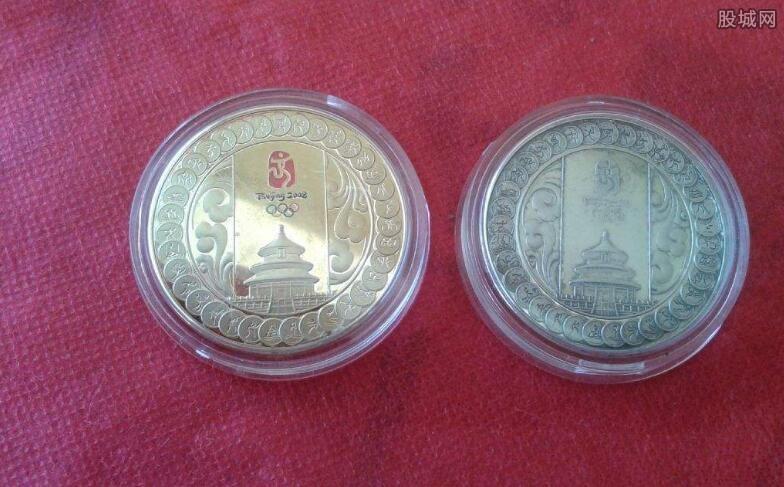 2008年奥运纪念币