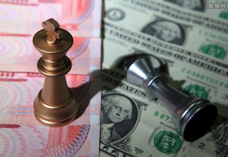 今日人民币兑美元中
