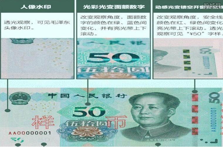 新版人民币50元