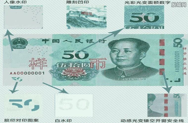 50元新版人民币